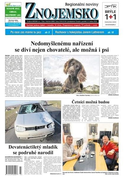 Regionální noviny Znojemsko - 03ZNJ - Elektronické noviny