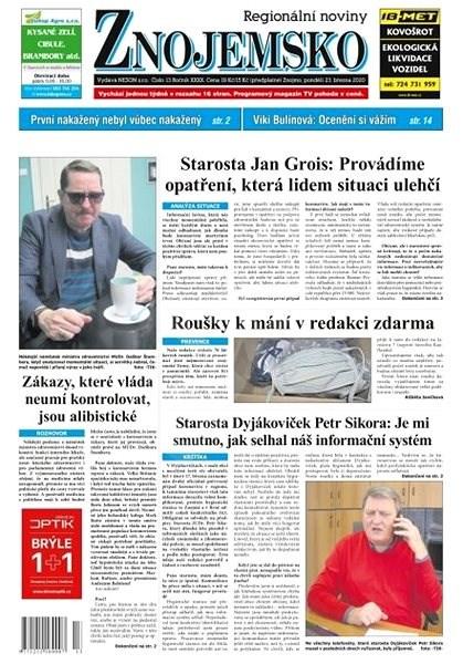 Regionální noviny Znojemsko - 13/2020 - Elektronické noviny
