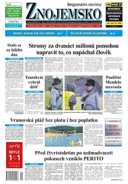 Regionální noviny Znojemsko - 29/2020 - Elektronické noviny