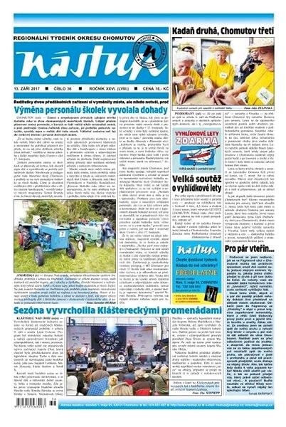 Nástup - 36/2017 - Elektronické noviny