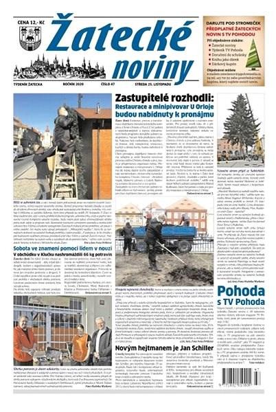 Žatecké noviny - 47/2020 - Elektronické noviny