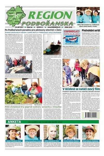 Region Podbořanska - 36/2017 - Elektronické noviny
