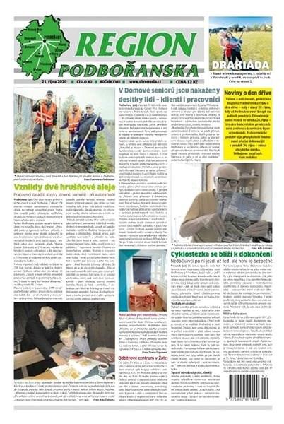 Region Podbořanska - 42/2020 - Elektronické noviny