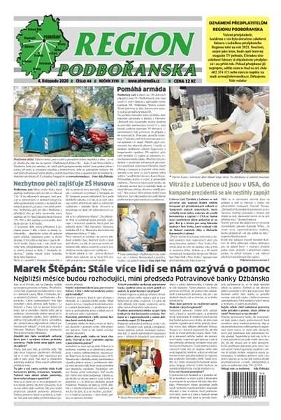 Region Podbořanska - 44/2020 - Elektronické noviny