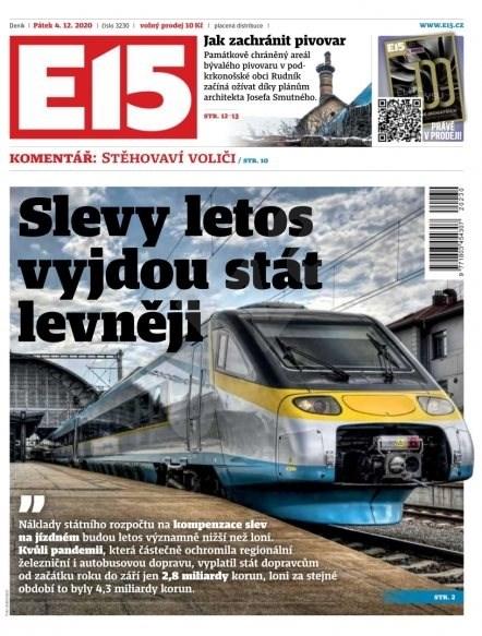 E15 - 04.12.2020 - Elektronické noviny