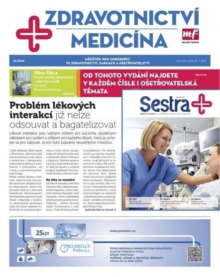 Zdravotnictví a medicína - 14/2014 - Elektronický časopis
