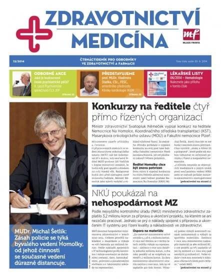 Zdravotnictví a medicína - 13/2014 - Elektronický časopis