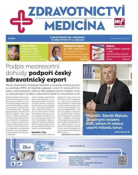 Zdravotnictví a medicína - 12/2014 - Elektronický časopis