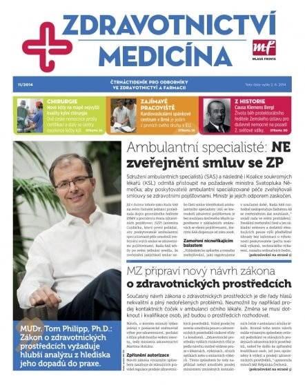 Zdravotnictví a medicína - 11/2014 - Elektronický časopis