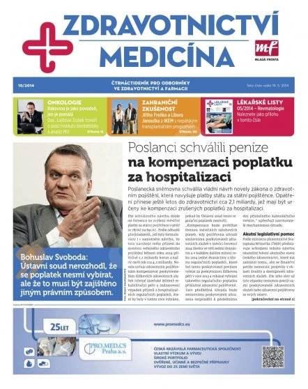 Zdravotnictví a medicína - 10/2014 - Elektronický časopis