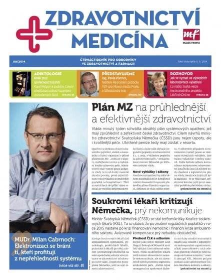 Zdravotnictví a medicína - 9/2014 - Elektronický časopis