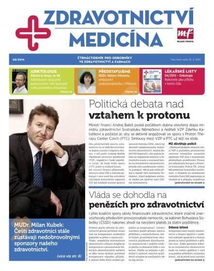 Zdravotnictví a medicína - 8/2014 - Elektronický časopis