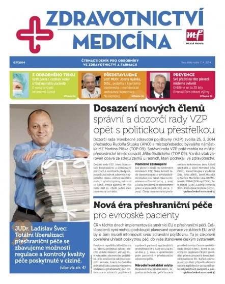 Zdravotnictví a medicína - 7/2014 - Elektronický časopis