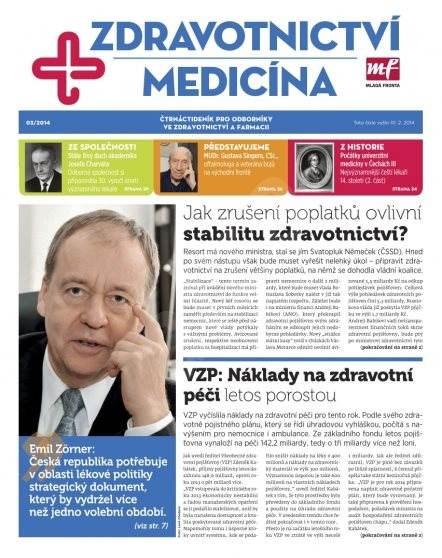 Zdravotnictví a medicína - 3/2014 - Elektronický časopis
