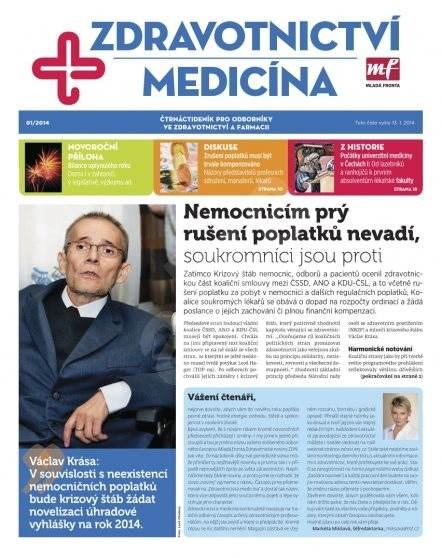 Zdravotnictví a medicína - 1/2014 - Elektronický časopis