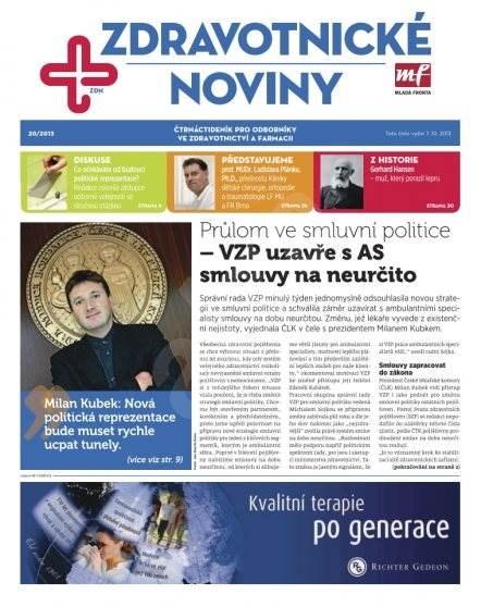 Zdravotnictví a medicína - 20/2013 - Elektronický časopis