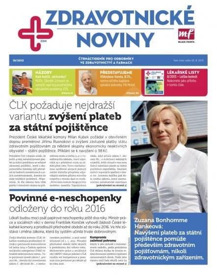Zdravotnictví a medicína - 19/2013 - Elektronický časopis