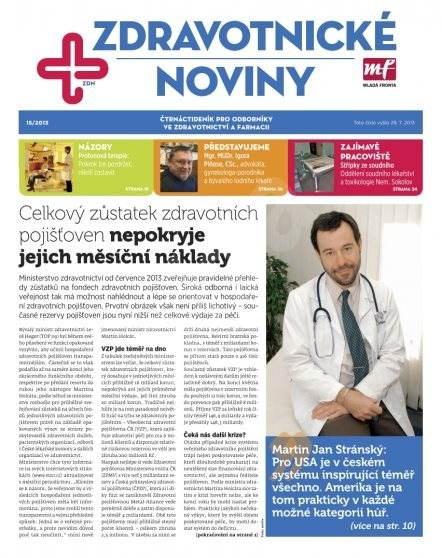 Zdravotnictví a medicína - 15/2013 - Elektronický časopis