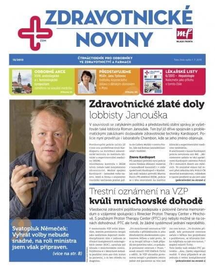 Zdravotnictví a medicína - 13/2013 - Elektronický časopis