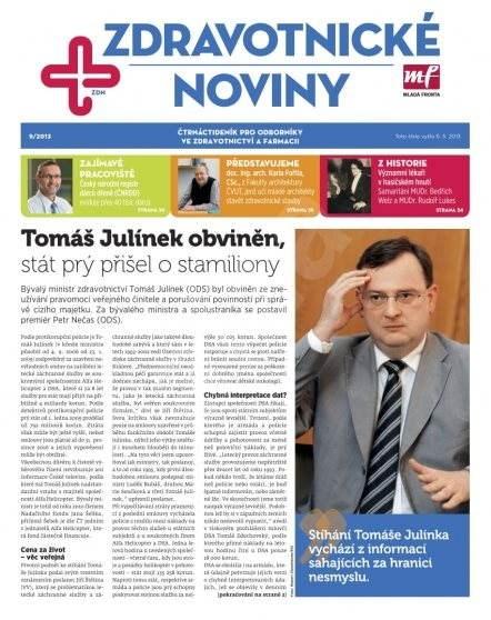 Zdravotnictví a medicína - 09/2013 - Elektronický časopis