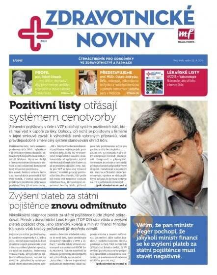 Zdravotnictví a medicína - 08/2013 - Elektronický časopis