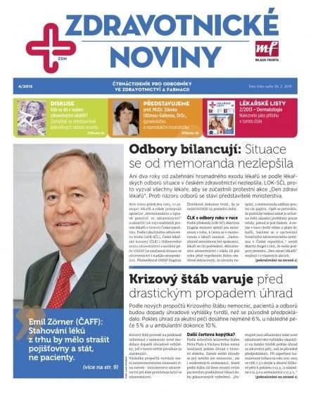 Zdravotnictví a medicína - 04/2013 - Elektronický časopis