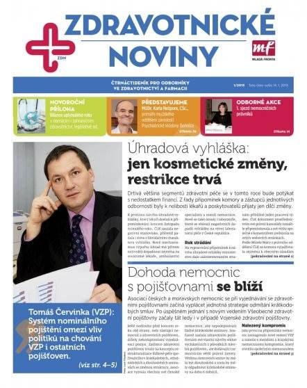 Zdravotnictví a medicína - 01/2013 - Elektronický časopis