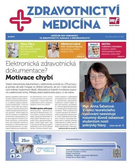 Zdravotnictví a medicína - 16/2014 - Elektronický časopis