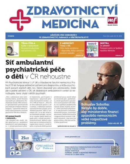 Zdravotnictví a medicína - 17/2014 - Elektronický časopis