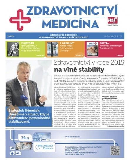 Zdravotnictví a medicína - 19/2014 - Elektronický časopis