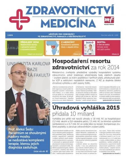 Zdravotnictví a medicína - 1/2015 - Elektronický časopis