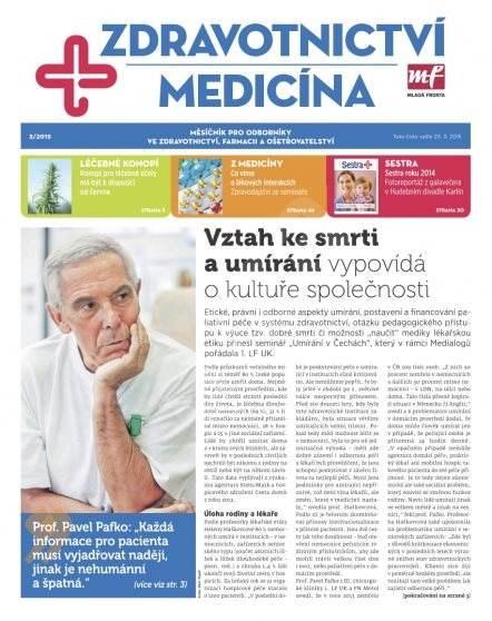 Zdravotnictví a medicína - 3/2015 - Elektronický časopis