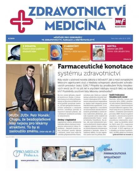 Zdravotnictví a medicína - 6/2015 - Elektronický časopis