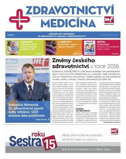 Zdravotnictví a medicína - 11/2015 - Elektronický časopis