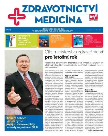Zdravotnictví a medicína - 1/2016 - Elektronický časopis