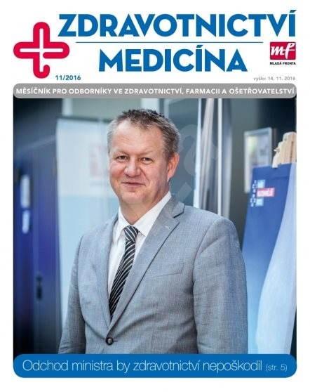 Zdravotnictví a medicína - 11/2016 - Elektronický časopis