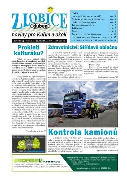 Zlobice - noviny pro Kuřim a okolí - 4/2017 - Elektronický časopis