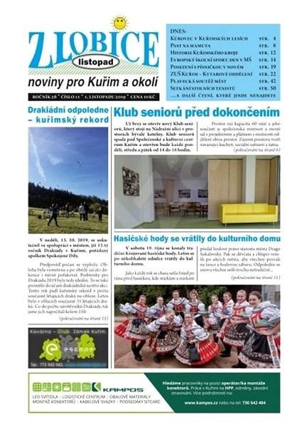 Zlobice - noviny pro Kuřim a okolí - 11/2019 - Elektronický časopis