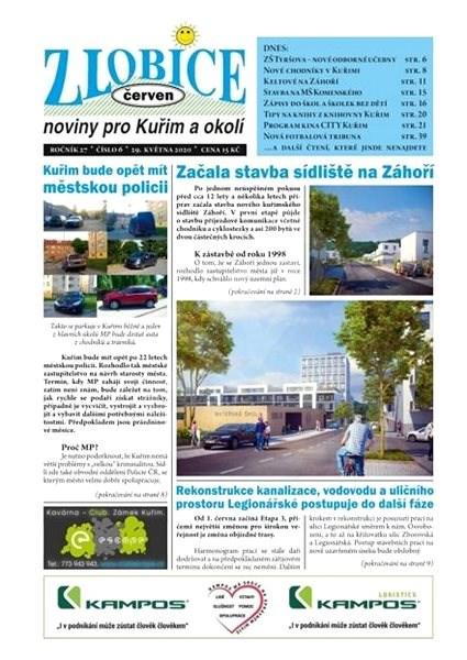 Zlobice - noviny pro Kuřim a okolí - 6/2020 - Elektronický časopis