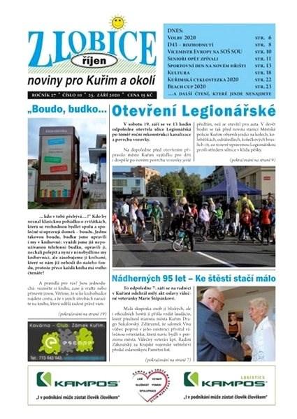 Zlobice - noviny pro Kuřim a okolí - 10/2020 - Elektronický časopis