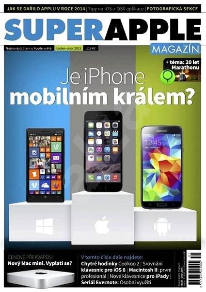 SuperApple Magazín - 1/2015 - Elektronický časopis
