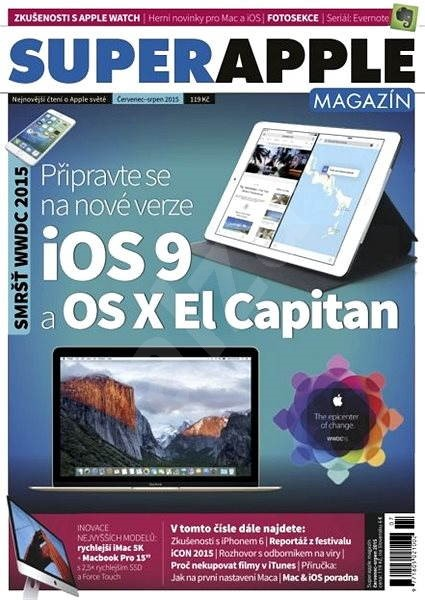 SuperApple Magazín - 4/2015 - Elektronický časopis
