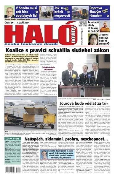 Haló noviny - 11_09_2014 - Elektronické noviny