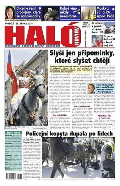 Haló noviny - 25_08_2014 - Elektronické noviny