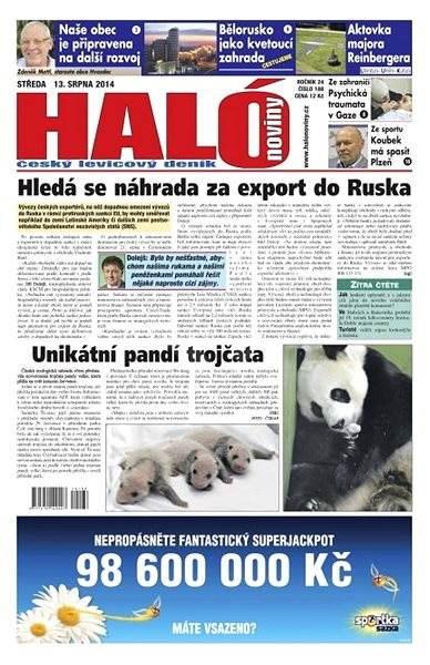 Haló noviny - 13_08_2014 - Elektronické noviny