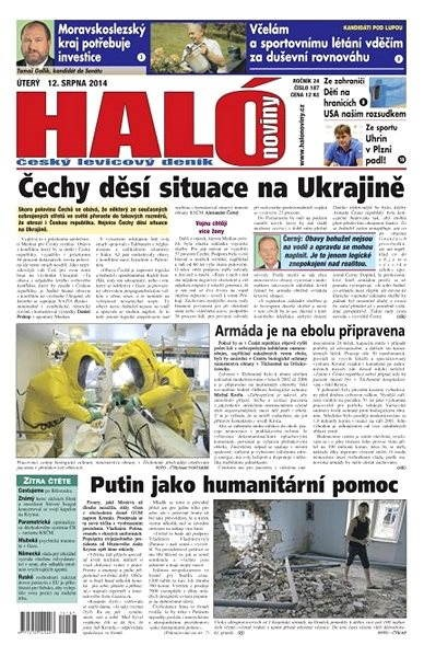 Haló noviny - 12_08_2014 - Elektronické noviny