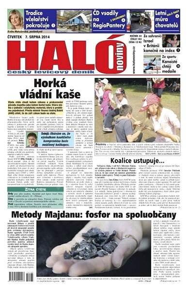 Haló noviny - 07_08_2014 - Elektronické noviny