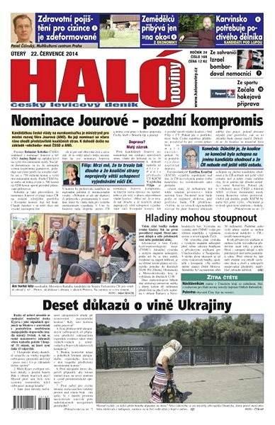 Haló noviny - 22_07_2014 - Elektronické noviny