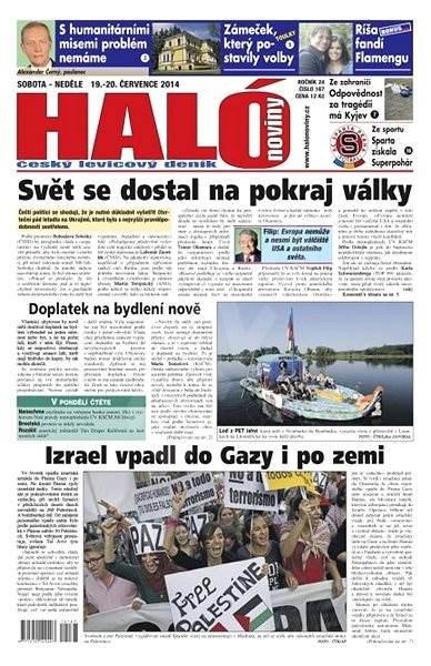 Haló noviny - 19_07_2014 - Elektronické noviny