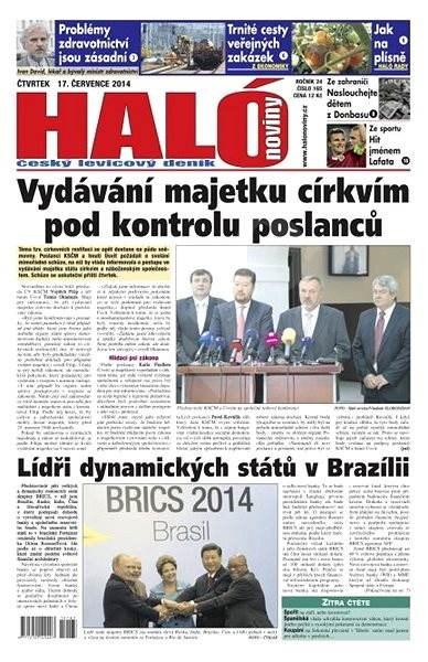 Haló noviny - 17_07_2014 - Elektronické noviny